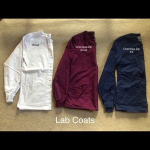 Lab Jackets XS and S